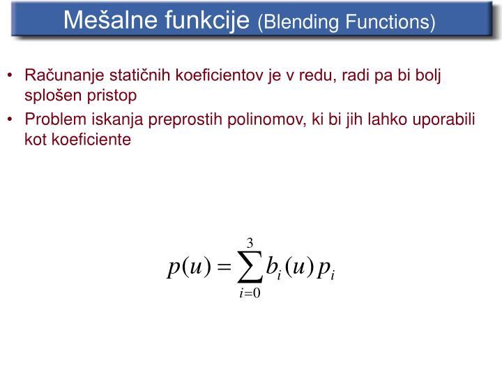Mešalne funkcije