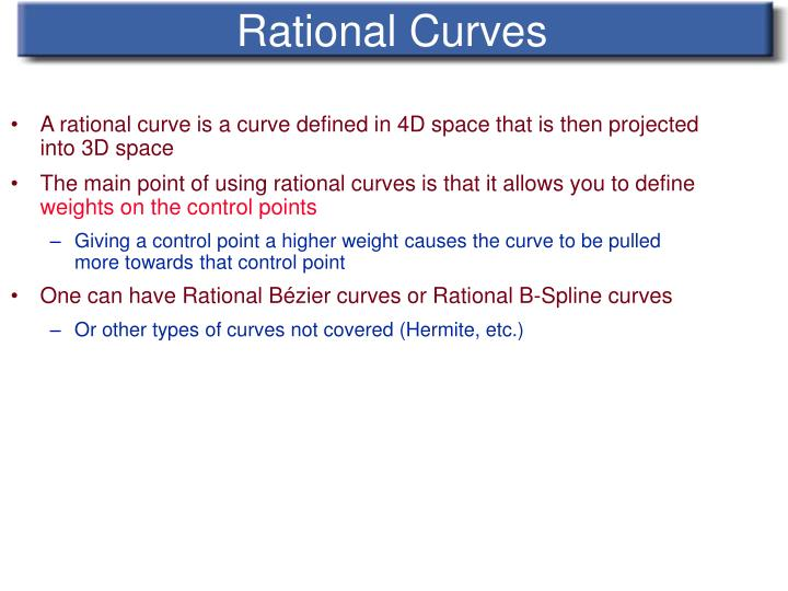 Rational Curves