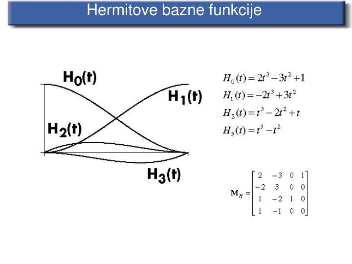 Hermitove bazne funkcije