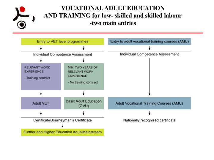 VOCATIONAL ADULT EDUCATION