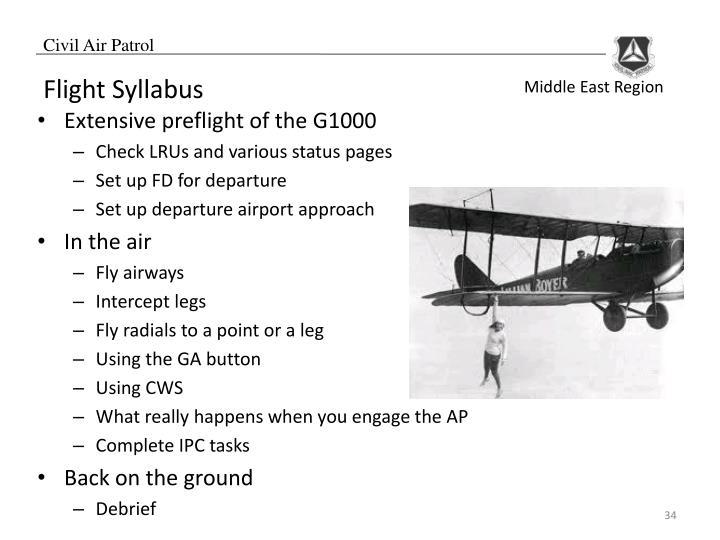 Flight Syllabus