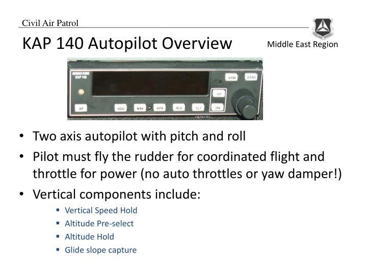 KAP 140 Autopilot Overview