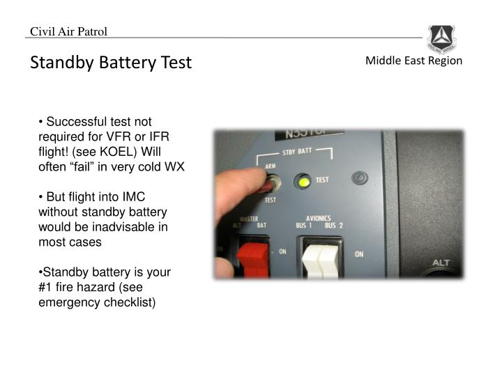 Standby Battery Test