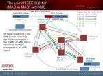 the use of ieee 802 1ah mac in mac with isis