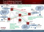 true l3 multicast delivered natively over ieee 802 1aq