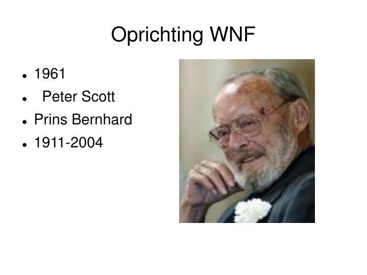 Oprichting WNF