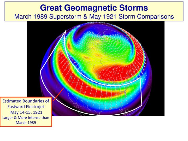 Great Geomagnetic Storms