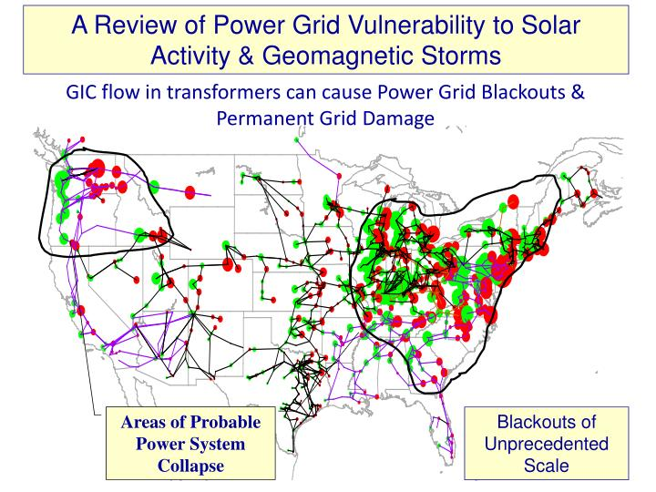 A Review of Power Grid Vulnerability to Solar Activity & Geomagnetic Storms