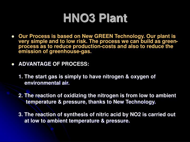 HNO3 Plant