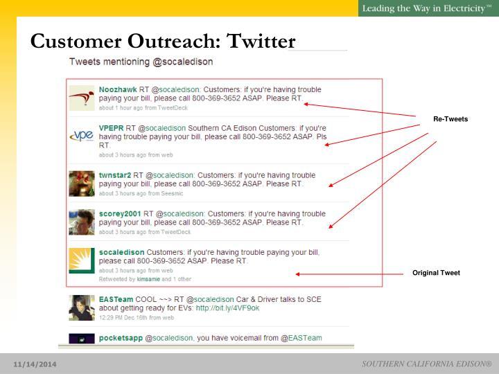Customer Outreach: Twitter