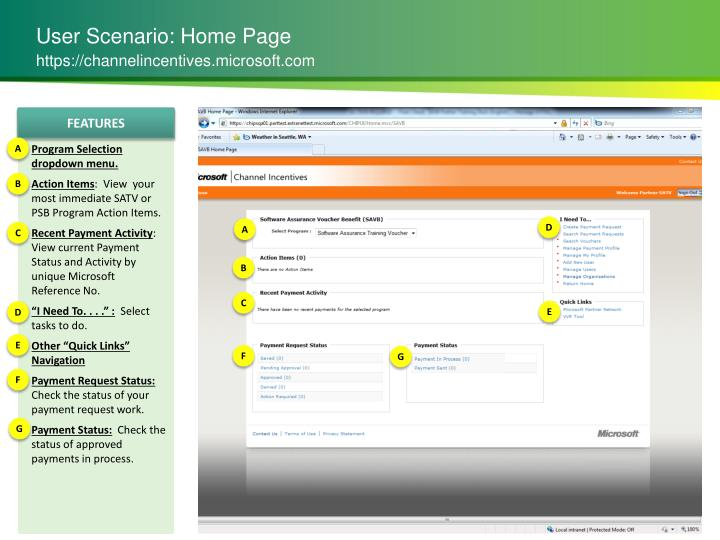 User Scenario: Home