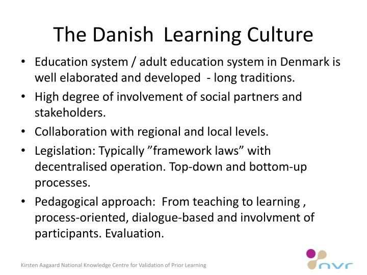 The danish learning culture