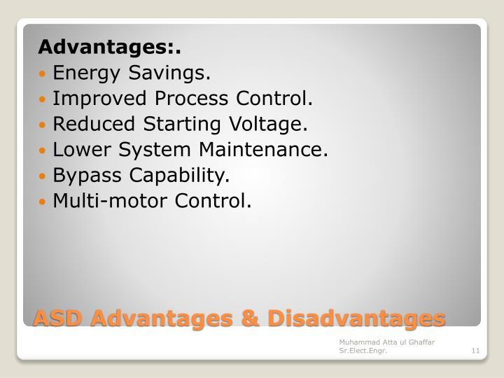 Advantages:.