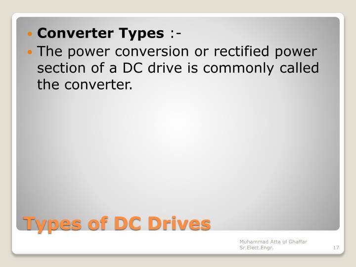 Converter Types