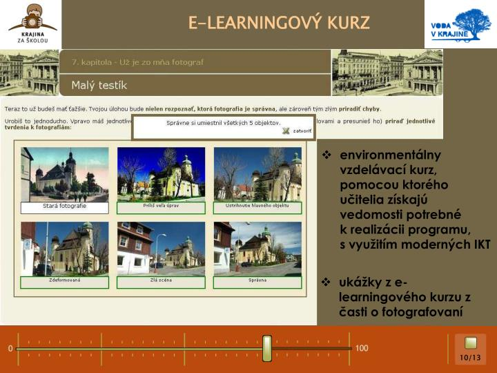 E-LEARNINGOVÝ KURZ