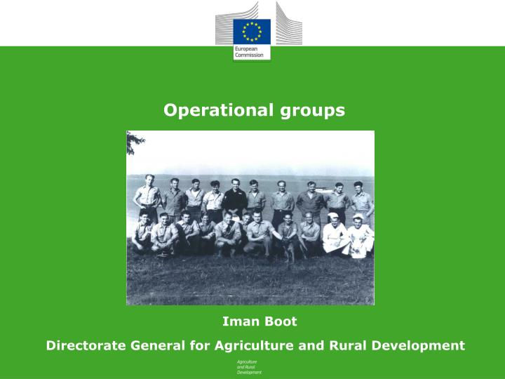 Operational groups