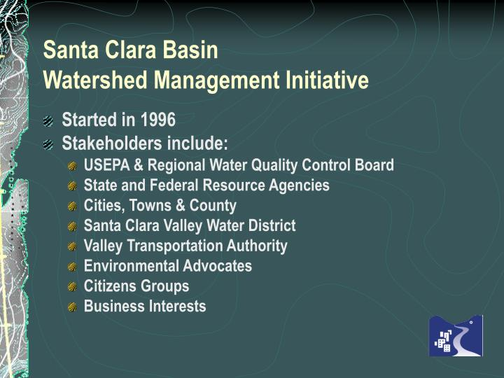 Santa Clara Basin