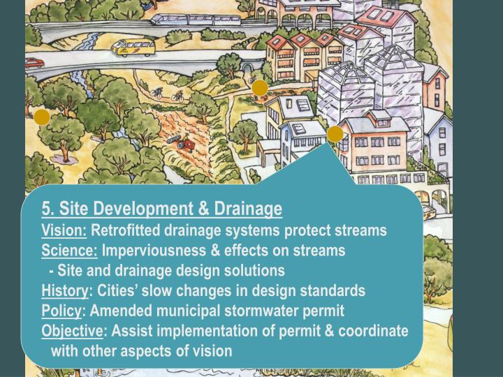 5. Site Development & Drainage