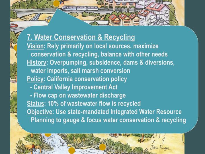 7. Water Conservation & Recycling