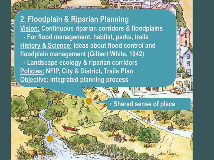 2. Floodplain & Riparian Planning
