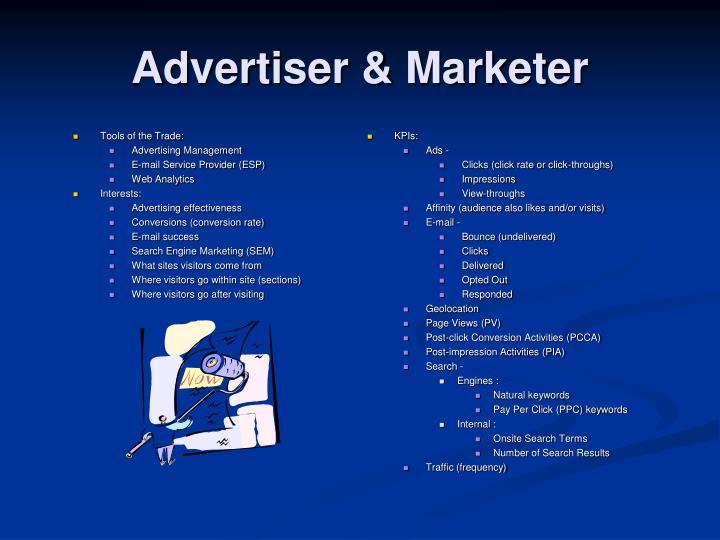 Advertiser & Marketer