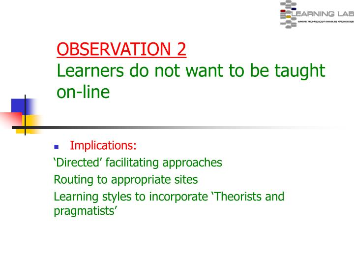 OBSERVATION 2