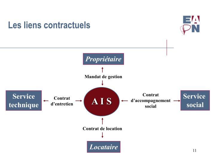 Les liens contractuels