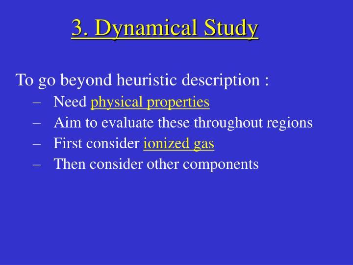 3. Dynamical Study