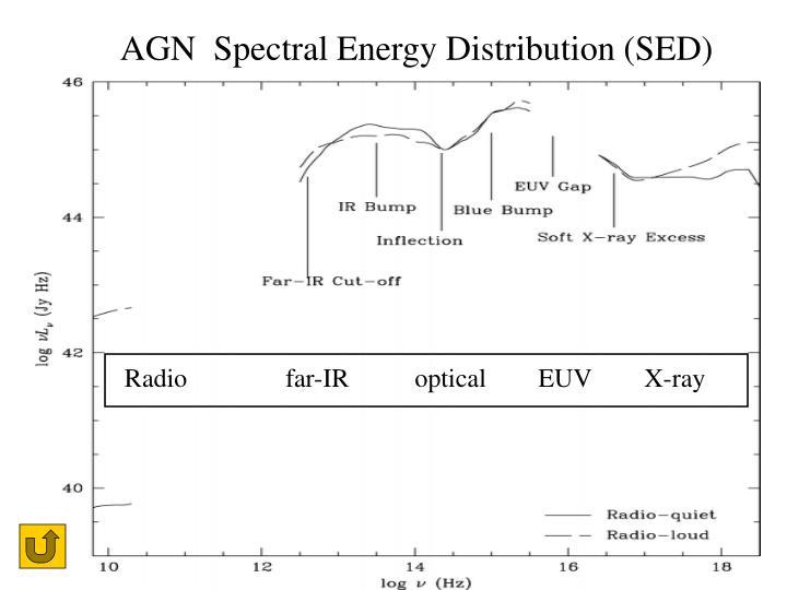 AGN  Spectral Energy Distribution (SED)