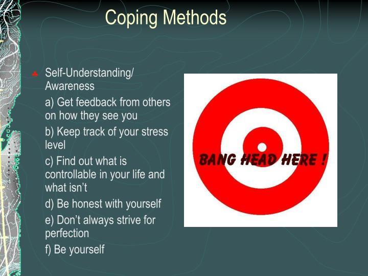 Coping Methods