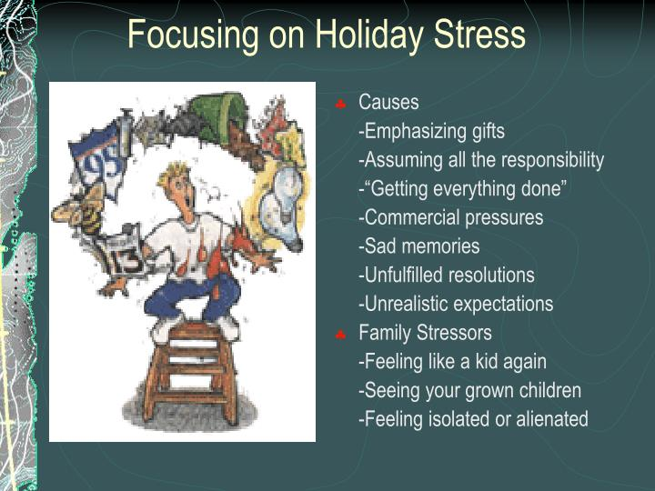 Focusing on Holiday Stress