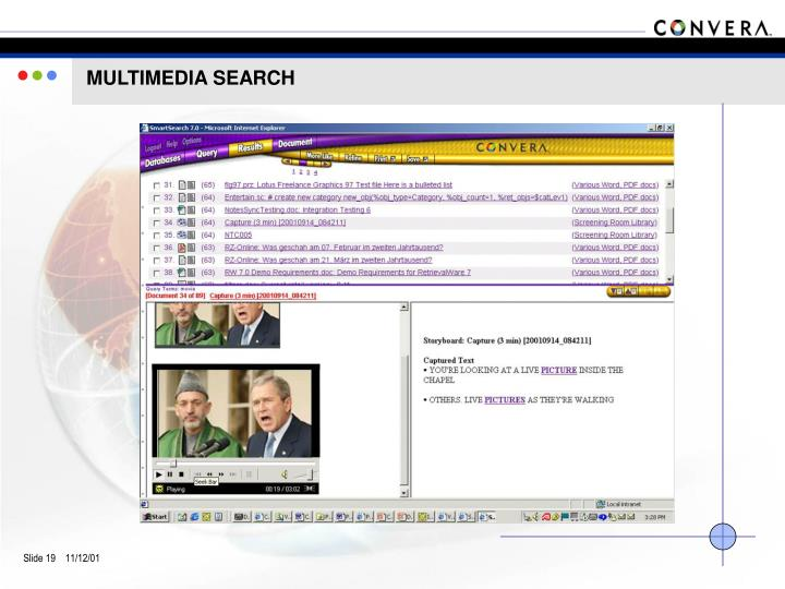 MULTIMEDIA SEARCH