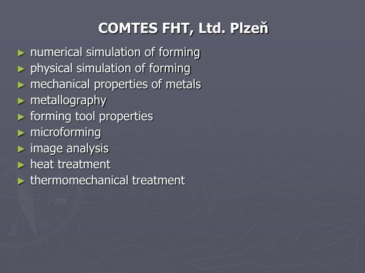 COMTES FHT,