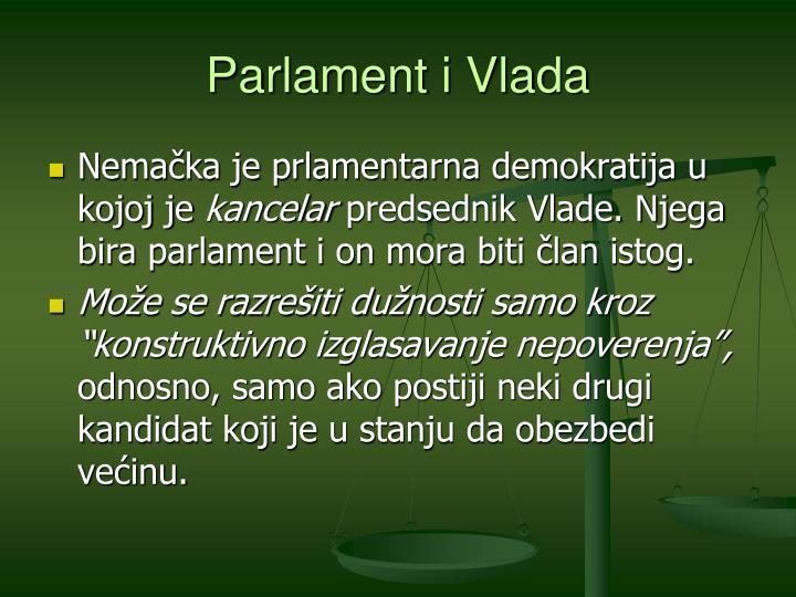 Parlament i Vlada