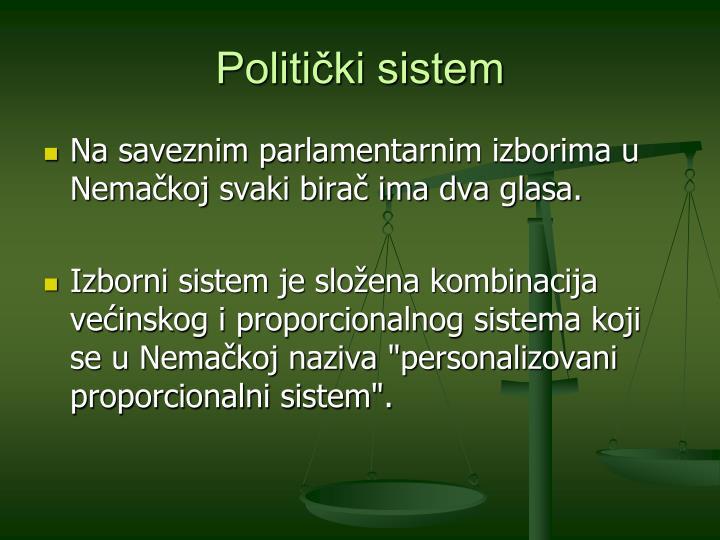 Politički sistem