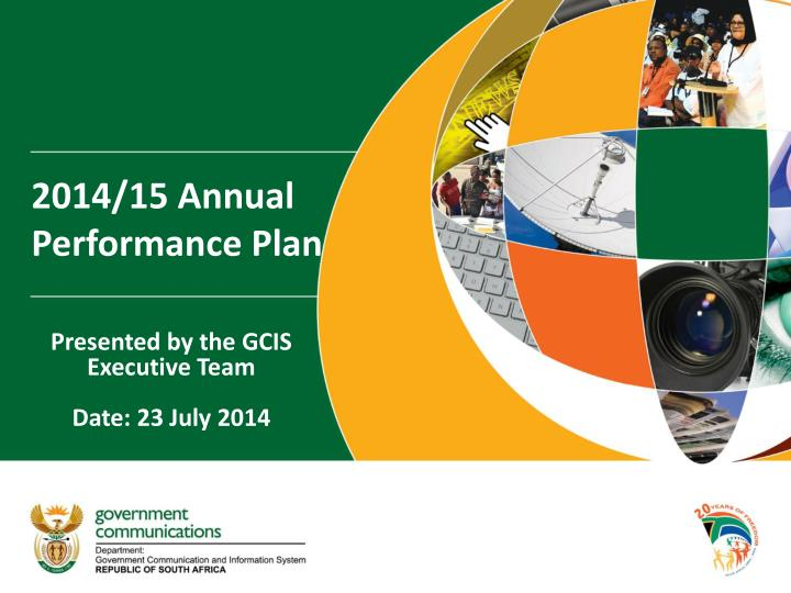 2014 15 annual performance plan