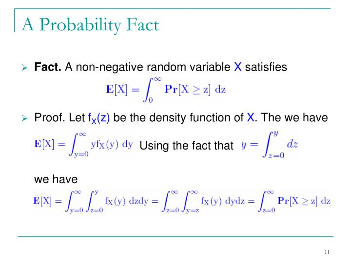 A Probability Fact