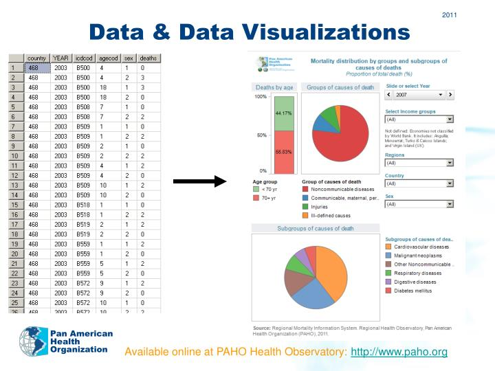 Data & Data Visualizations