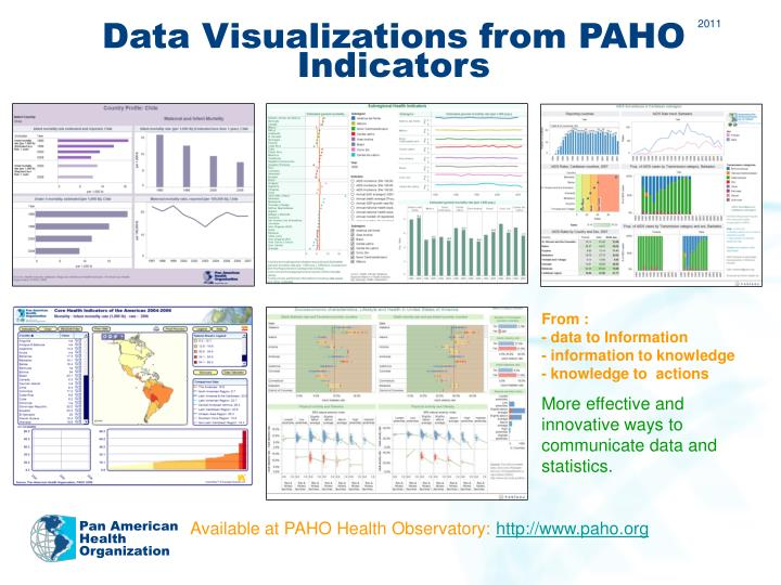 Data Visualizations from PAHO Indicators