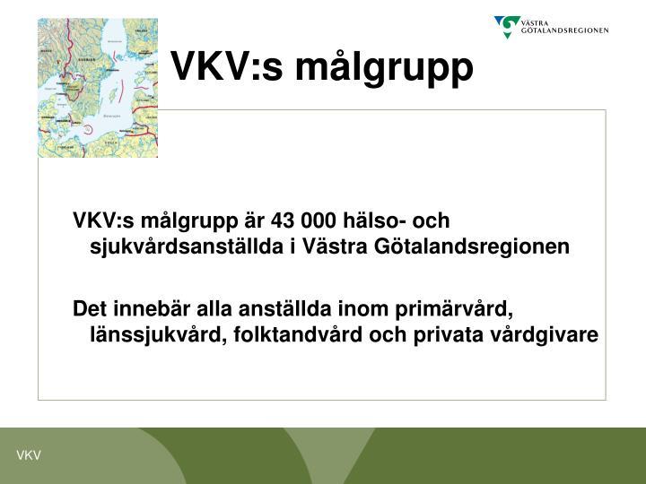 VKV:s målgrupp