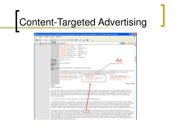 Content-Targeted