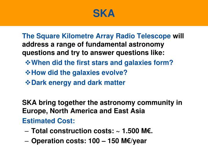 The Square Kilometre Array Radio Telescope
