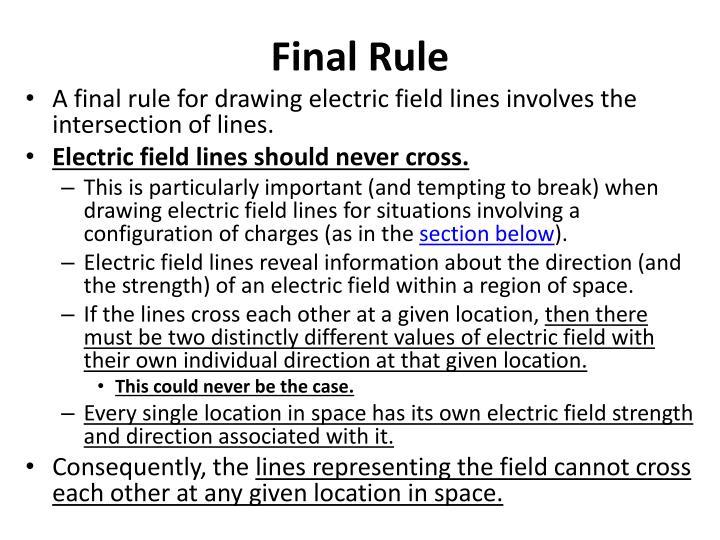 Final Rule