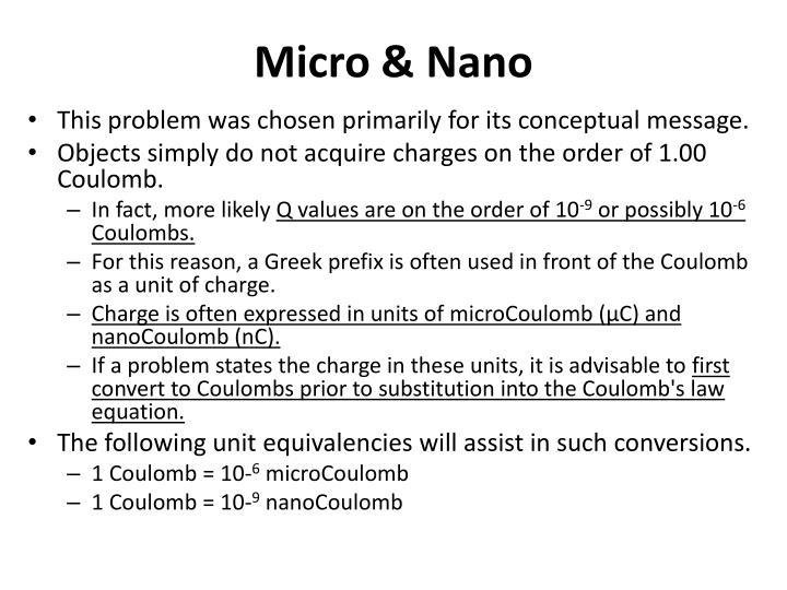 Micro &