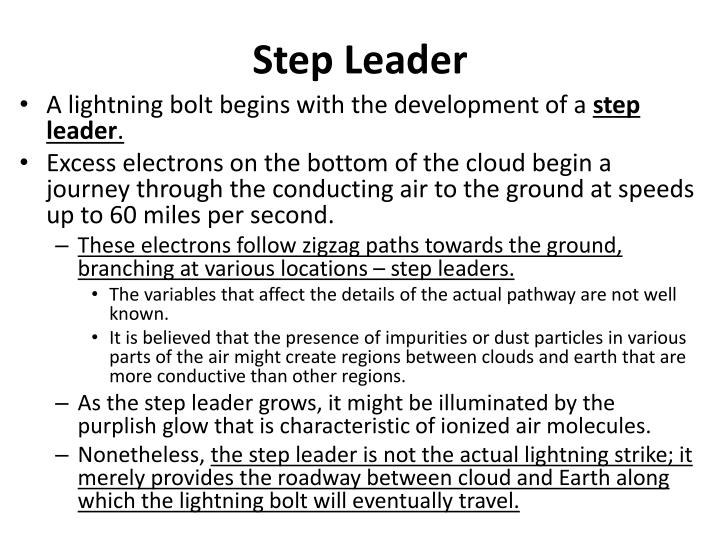 Step Leader