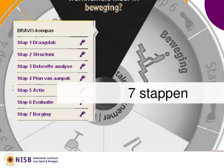 7 stappen