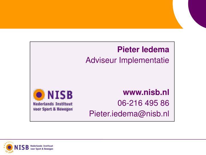 Pieter Iedema