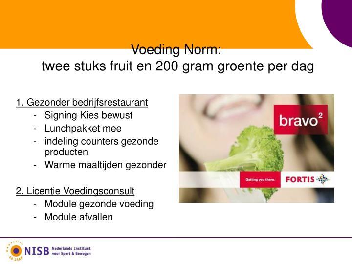 Voeding N