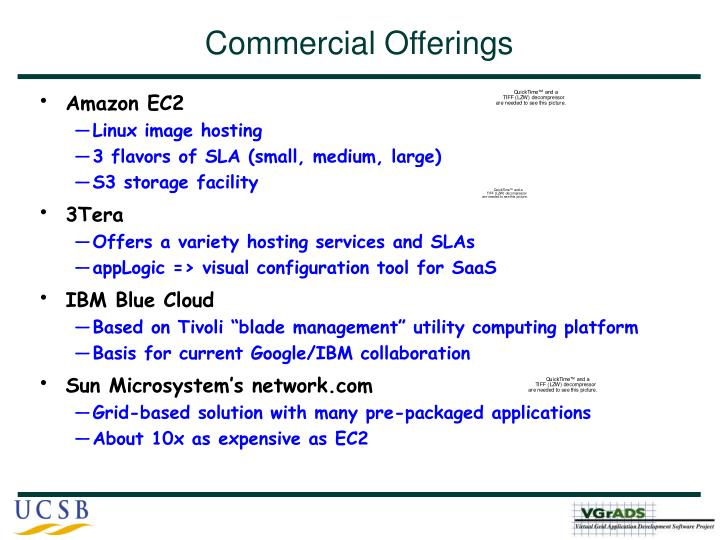 Commercial Offerings