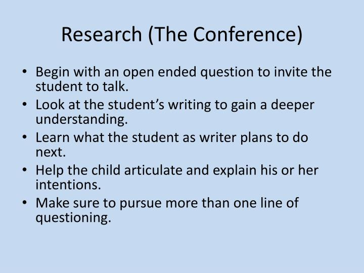 Research (The Conference)